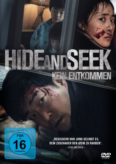 Hide and Seek - DVD-Cover