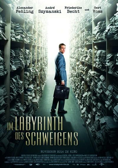 Im Labyrinth des Schweigens - Plakat
