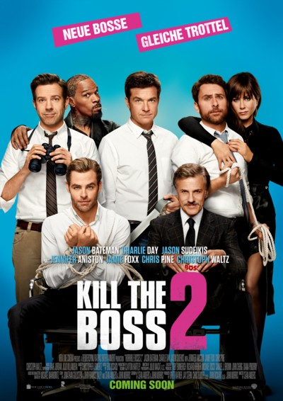 Kill the Boss 2 - Plakat