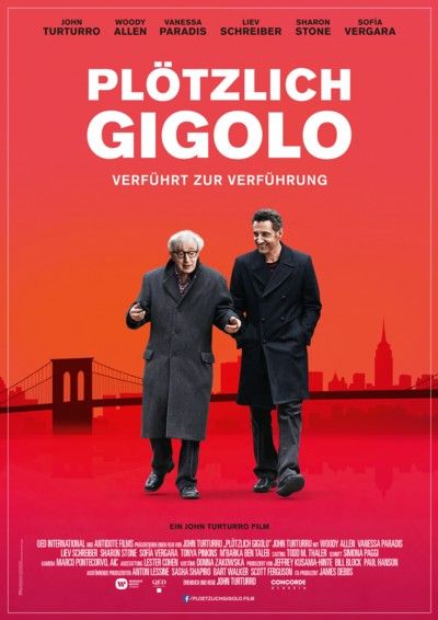 Plötzlich Gigolo - Plakat