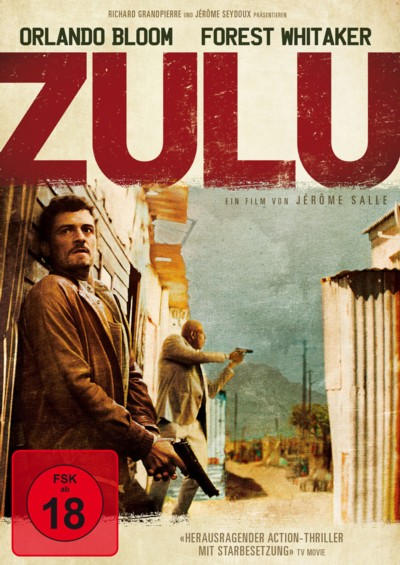 Zulu - DVD-Cover