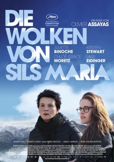 Die Wolken von Sils Maria - Plakat