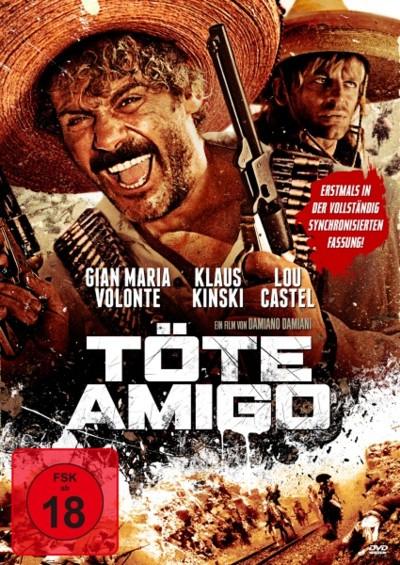 Töte Amigo - DVD-Cover