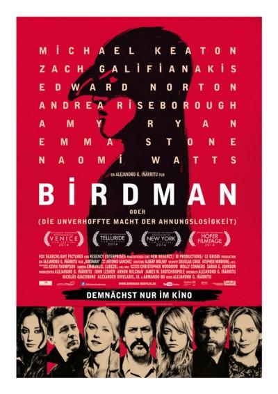 Birdman - Plakat