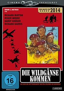 Die Wildgänse kommen - DVD-Cover - Master 2014
