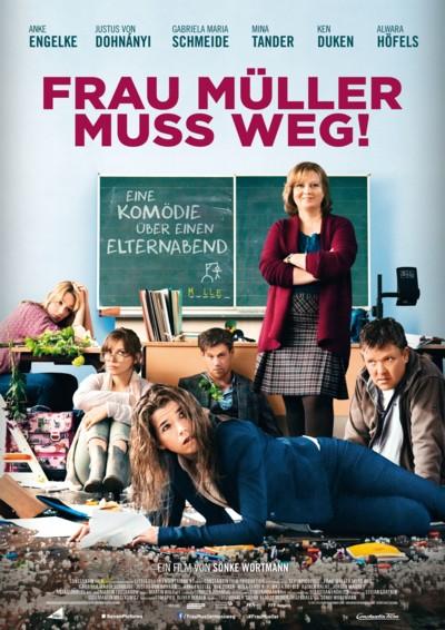 Frau Müller muss weg - Plakat