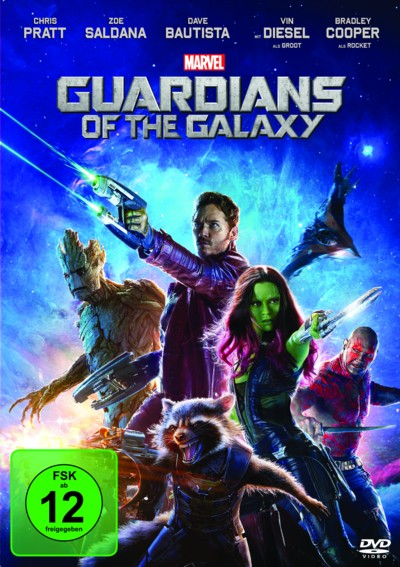 Guardians of the Galaxy - DVD-Cover