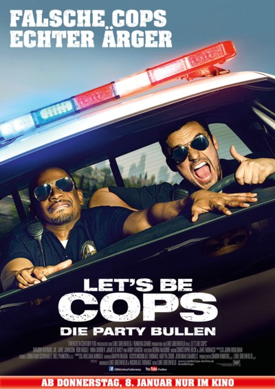 Let s be Cops - Plakat