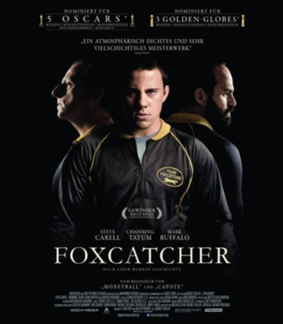 Foxcatcher - Plakat