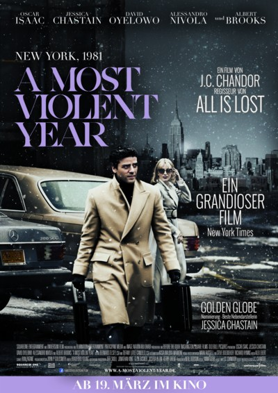 A most violent year - Plakat