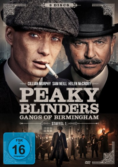 Peaky Blinders - Staffel 1 - DVD-Cover