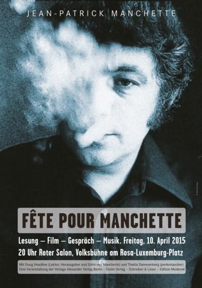 Plakat Fete Manchette