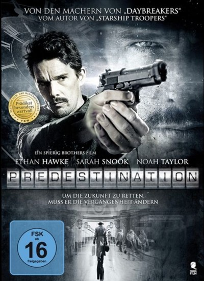 Predestination - DVD-Cover