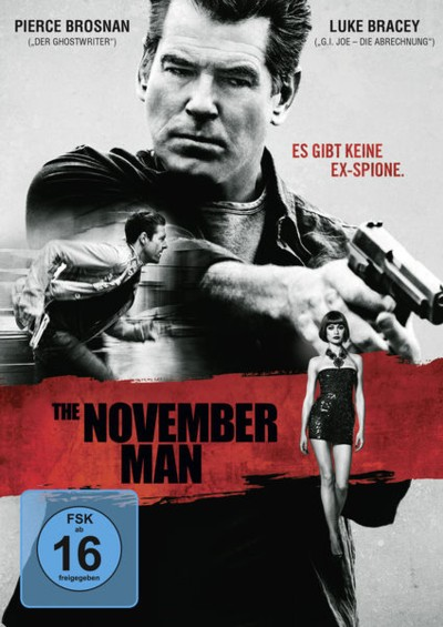 The November Man - DVD-Cover