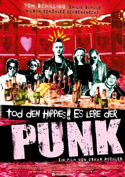Tod den Hippies Es lebe der Punk - Plakat