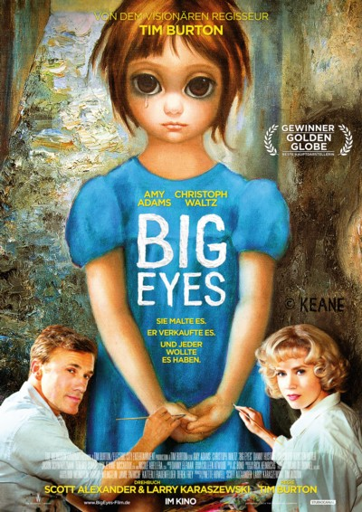 Big Eyes - Plakat