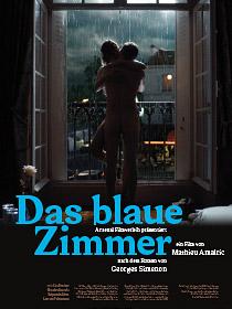 Das blaue Zimmer - Plakat