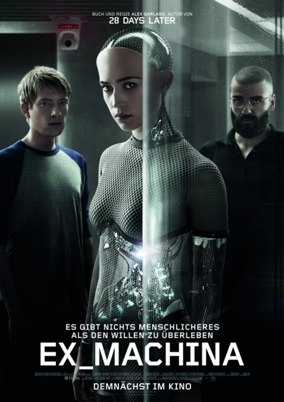 Ex Machina - Plakat