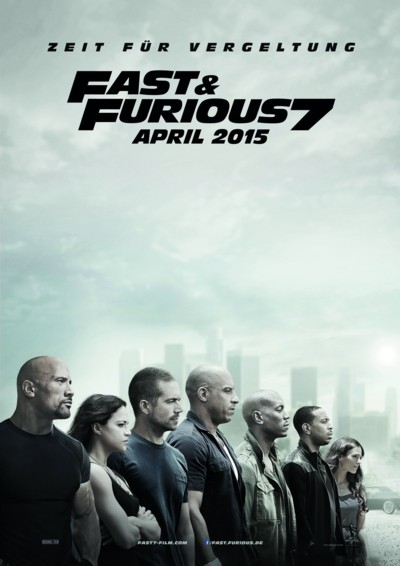 Fast and Furious 7 - Plakat