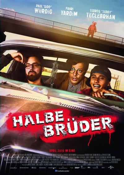Halbe Brüder - Plakat