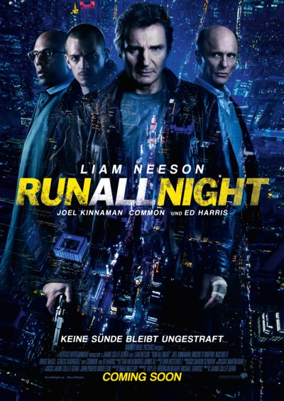 Run all Night - Plakat
