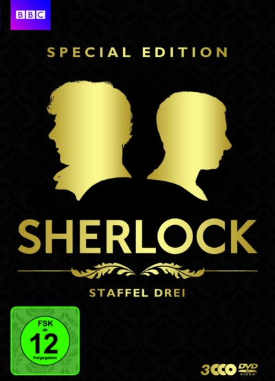 Sherlock - Staffel 3 - Special Edition - DVD-Cover - 4