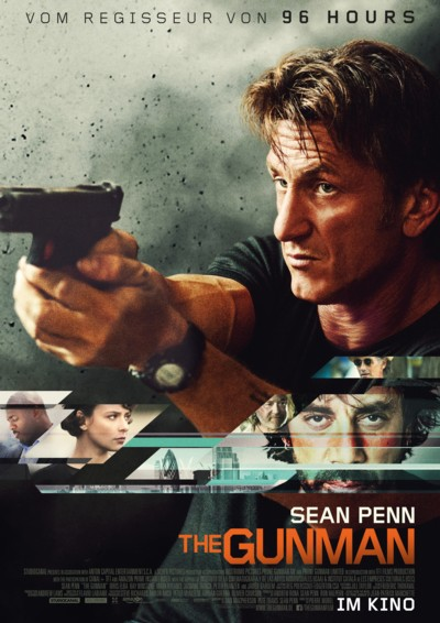 The Gunman - Plakat