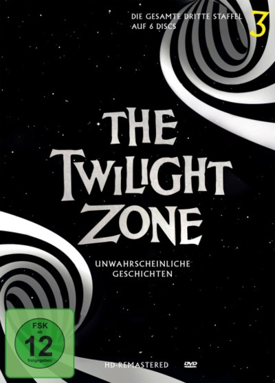 The Twilight Zone - Staffel 3 - DVD-Cover