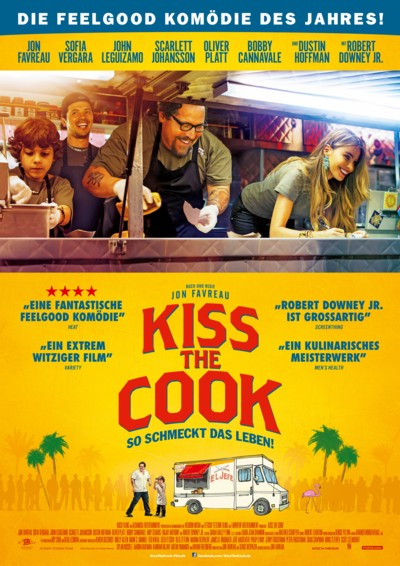 Kiss the Cook - Plakat
