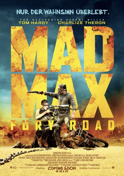 Mad Max Fury Road - Plakat