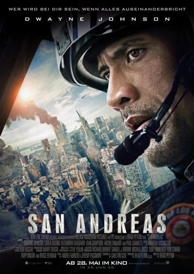 San Andreas - Plakat