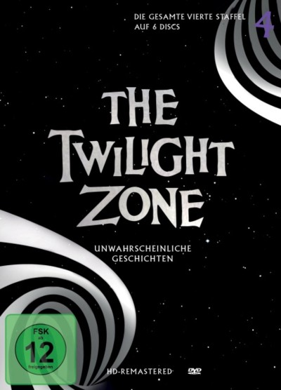 The Twilight Zone - Staffel 4 - DVD-Cover
