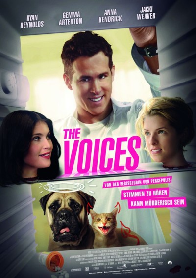 The Voices - Plakat