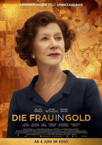 Die Frau in Gold - Plakat