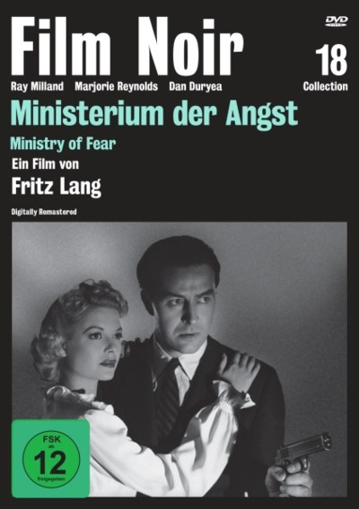 Ministerium der Angst - DVD-Cover