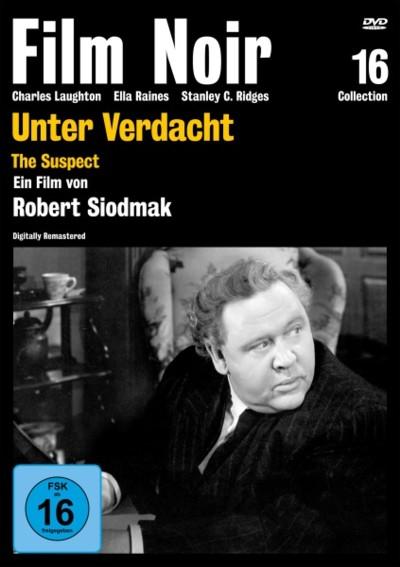 Unter Verdacht - DVD-Cover