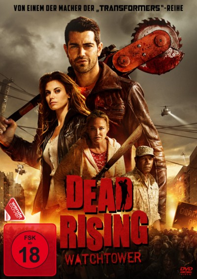 Dead Rising Watchtower - DVD-Cover - 4