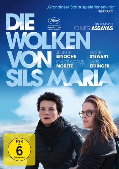 Die Wolken von Sils Maria - DVD-Cover