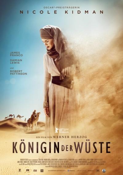 Königin der Wüste - Plakat