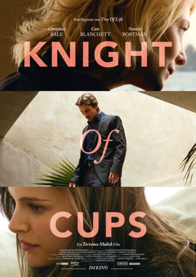 Knight of Cups - Plakat