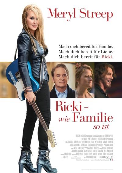 Ricki - wie Familie so ist - Plakat