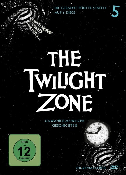 The Twilight Zone - Staffel 5 - DVD-Cover