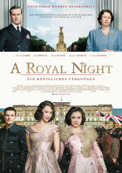 A Royal Night - Plakat