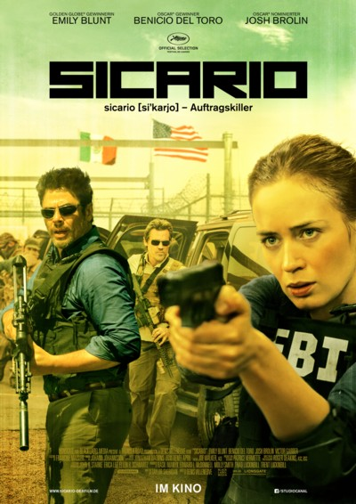 Sicario - Plakat