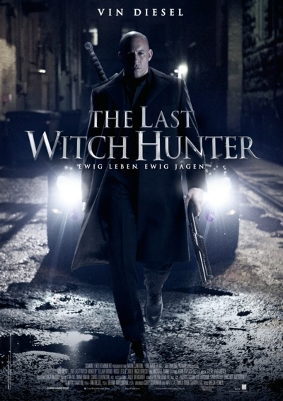 The Last Witch Hunter - Plakat