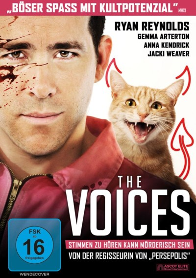 The Voices - DVD-Cover