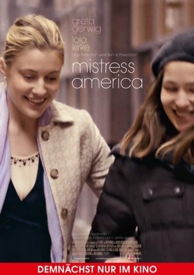 Mistress America - Plakat