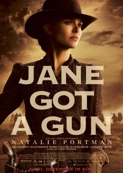 Jane got a Gun - Plakat