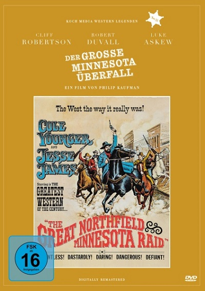 Der große Minnesota-Überfall - DVD-Cover