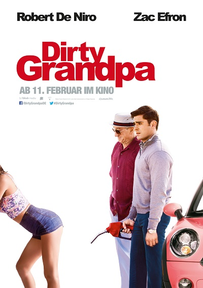 Dirty Grandpa - Plakat